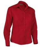 Blusa laboral roja