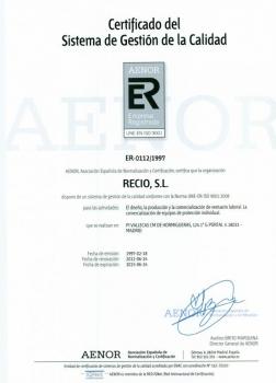 Auditoría de seguimiento por parte de AENOR