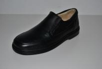 Zapato mocasín caballero cuero negro