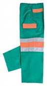 Pantalón de trabajo combinado