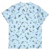 Casaca pijama pico estampada