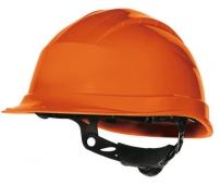 Casco de obra resistencia eléctrica naranja