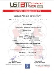 Bata antiestatica EN1149/05
