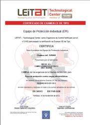 Chaleco antiestatico EN1149/05