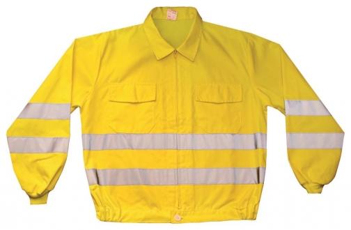 Cazadora alta visibilidad amarillo flúor 3M