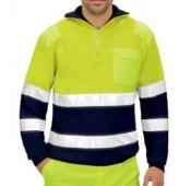 Jersey AV marino-amarillo EN20471