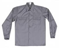 Camisa manga larga antiestática gris
