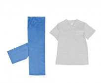 Pijama cuello pico en oferta 1PI027