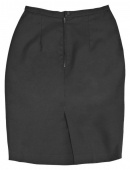 Falda camarera color negro