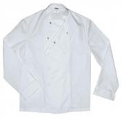 chaqueta cocinero manga larga broches