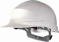 casco blanco ventilado