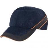 Gorra antigolpes para taller color marino