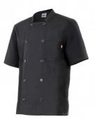 chaqueta cocina 432 negra