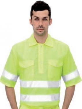 Camisa AV EN471 3004 amarillo fluor