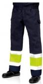 Pantalón A.V. coordinado 3023, marino-amarillo