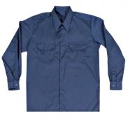 Camisa broches manga larga marino