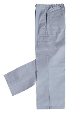 Pantalon trabajo multibolsillos algodon