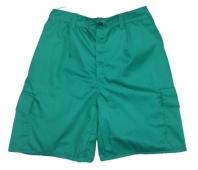 pantalon corto de trabajo multibolsillos verde