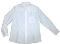 Blusa manga larga blanca