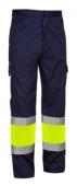 Pantalon AV EN20471 coordinado WIND PLUS marino