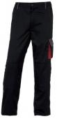 Pantalon dmachpan coordinado negro rojo