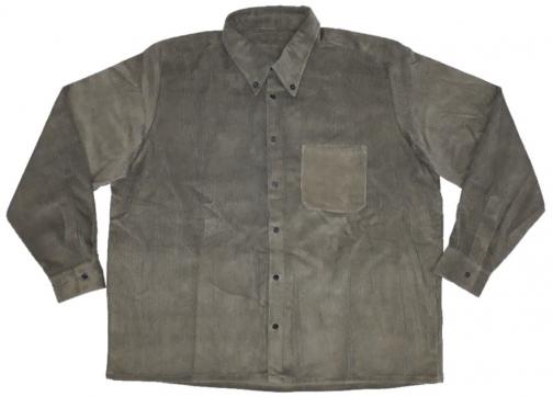 Camisa pana verde laboral 1CL37
