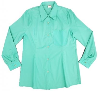 Blusa manga larga, verde 1BL14