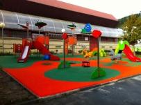 Parques infantiles de acero inoxidable