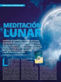 Gran reportaje del libro Meditaciones Lunares en la revista MÁS ALLÁ
