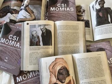 Helena R. Olmo y CSI Momias en la revista digital QUO