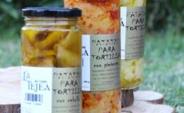 Prepared potato tortilla The Tejea