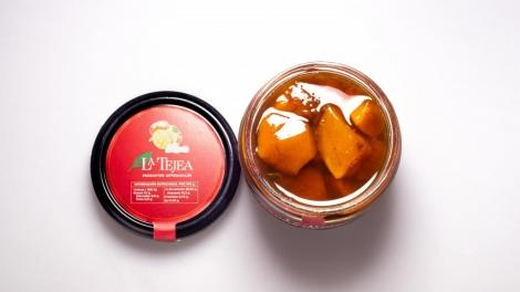 Dados de Mango Caramelizados