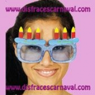 Gafas Tarta Cumpleaños