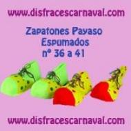 Zapatones Payaso Espumados nº 36-41