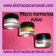 Tarro micropurpurina polvo