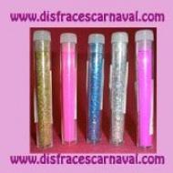Tubo purpurina fluor / Laser