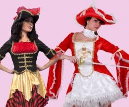 Mosqueteras y piratesas