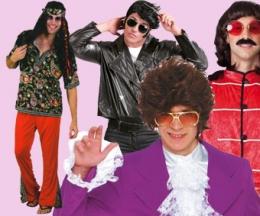 Años 20,30,50,60,Hippies,Punks,...