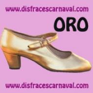Zapato Princesa Oro