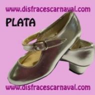 Zapato Princesa Plata