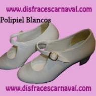Zapato polipiel Blanco