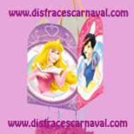 Piñata Princesas Disney Cuadrada
