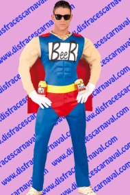 Disfraz Duffman Simpsons