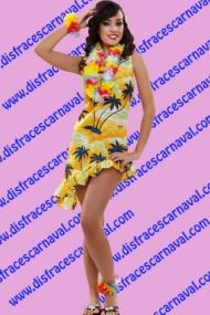 Vestido hawaiana