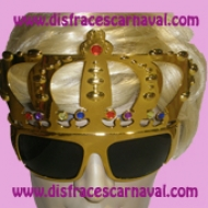 Gafas Corona oro