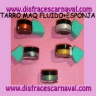 Tarro Maquillaje Fluido prof Metalizado