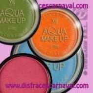 Caja Maquillaje al Agua 15gr Az/Nja/Fx ó Vde