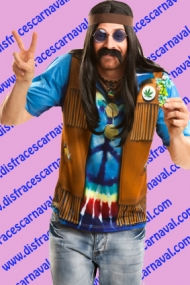 Camiseta Hippie Man