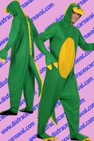 Dinosaurio Verde Amarillo