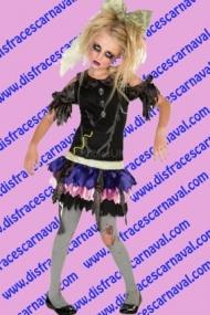 disfraz muñeca zombie
